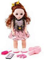 Кукла Вероника 37 см в салоне красоты с аксессуарами (6 элементов)