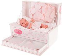 Кукла-младенец Фиона в розовом, 33 см., Antonio Juan Munecas