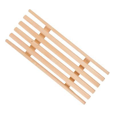 Решетка на ванну деревянная,  70х26см