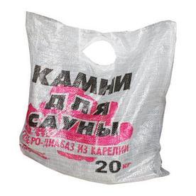 Камни для сауны, 20кг - габбродиабаз, колотый(в мешке)
