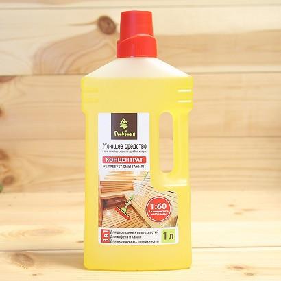 Средство для мытья поверхностей, для бани и сауны