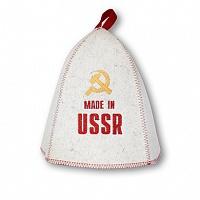 """Шапка банная """"СССР"""", войлок"""