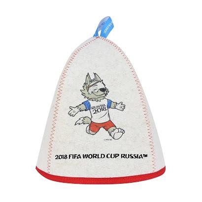 """Шапка банная """"ФИФА 2018 Забивака празднование"""""""
