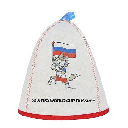"Шапка банная ""ФИФА 2018 Забивака флаг"""