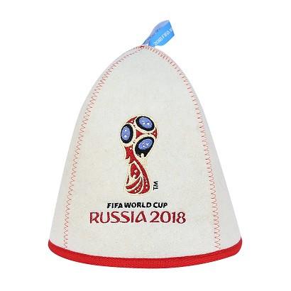 "Шапка банная ""ФИФА 2018 Эмблема"""