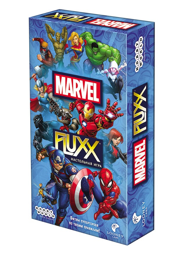 Настольная игра: Fluxx Marvel