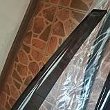 Ветровики дверей (дефлекторы окон) Hyundai Solaris/Accent х/б (2011-2017), фото 3