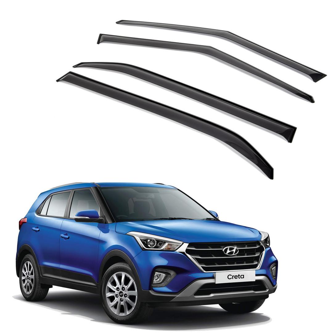 Ветровики дверей (дефлекторы окон) Hyundai Creta (2016 -)