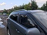 Ветровики дверей (дефлекторы окон) Hyundai Creta (2016 -), фото 2