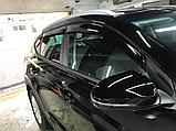 Ветровики дверей (дефлекторы окон) Hyundai Tucson TL (2015-), фото 3