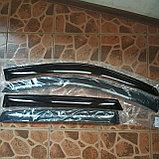 Ветровики дверей (дефлекторы окон) Hyundai Tucson (2004-2009), фото 4