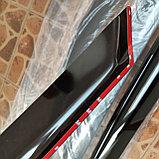 Ветровики дверей (дефлекторы окон) Hyundai Santa Fe (2012-2018), фото 3