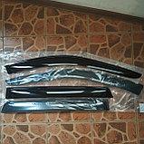 Ветровики дверей (дефлекторы окон) Hyundai Santa Fe (2000-2006), фото 2