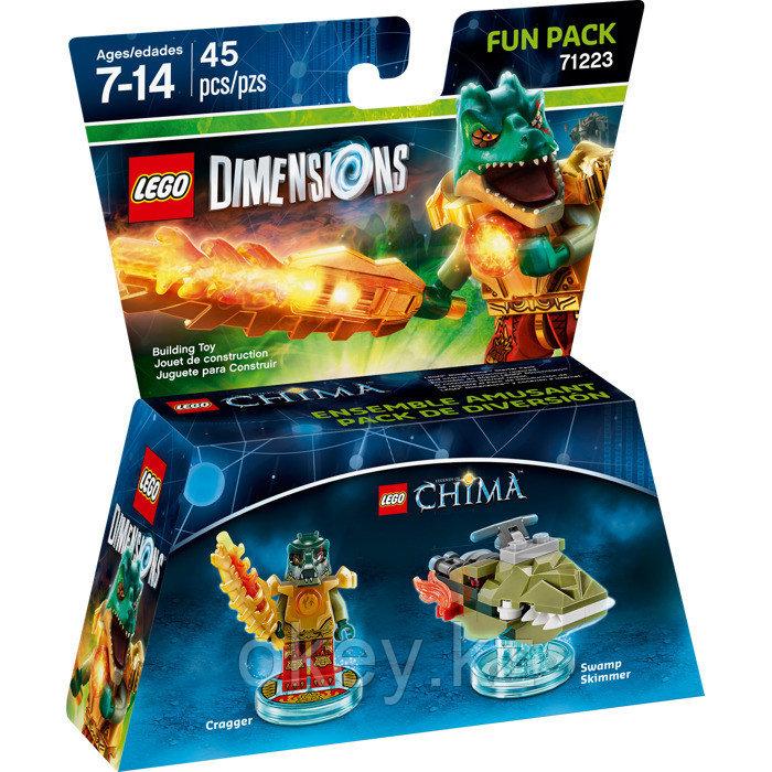 LEGO Dimensions: Fun Pack: Краггер 71223