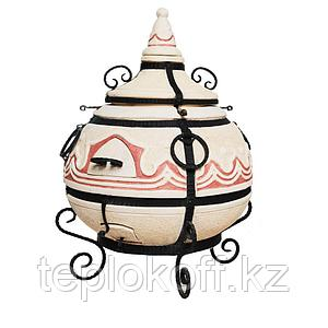 Печь Тандыр Сармат Восточный со стойкой для аксессуаров в комплекте