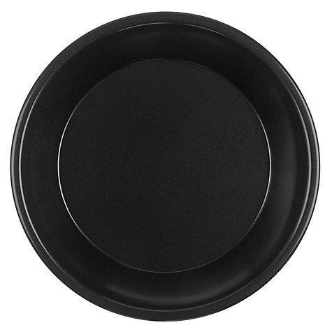 Тарелка 220мм, чёрн., ПП, 50 шт