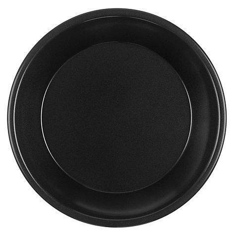 Тарелка 220мм, чёрн., ПП, 50 шт, фото 2