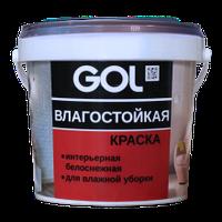 Краска акриловая влагостойкая GOL ВД-АК-2180 (3 кг)