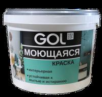 Краска акриловая для стен моющаяся GOL ВД-АК-1180 (6,5 кг)