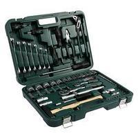 Набор инструментов в кейсе TUNDRA, автомобильный, CrV, 75 предметов