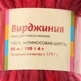 Пряжа 'Вирджиния' 100 мериносовая шерсть 85м/150гр (4358, секционный) - фото 3