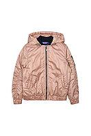 Детская для девочек осенняя бежевая куртка Bell Bimbo 181015 св.бежевый 134-68р.