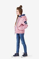 Детская для девочек осенняя розовая куртка Bell Bimbo 181015 пепельно-розовый 134-68р.