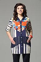 Женская осенняя шифоновая большого размера блуза Matini 4.886 56р.