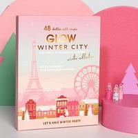 Ассорти для декора ногтей Winter city, 48 бутылочек