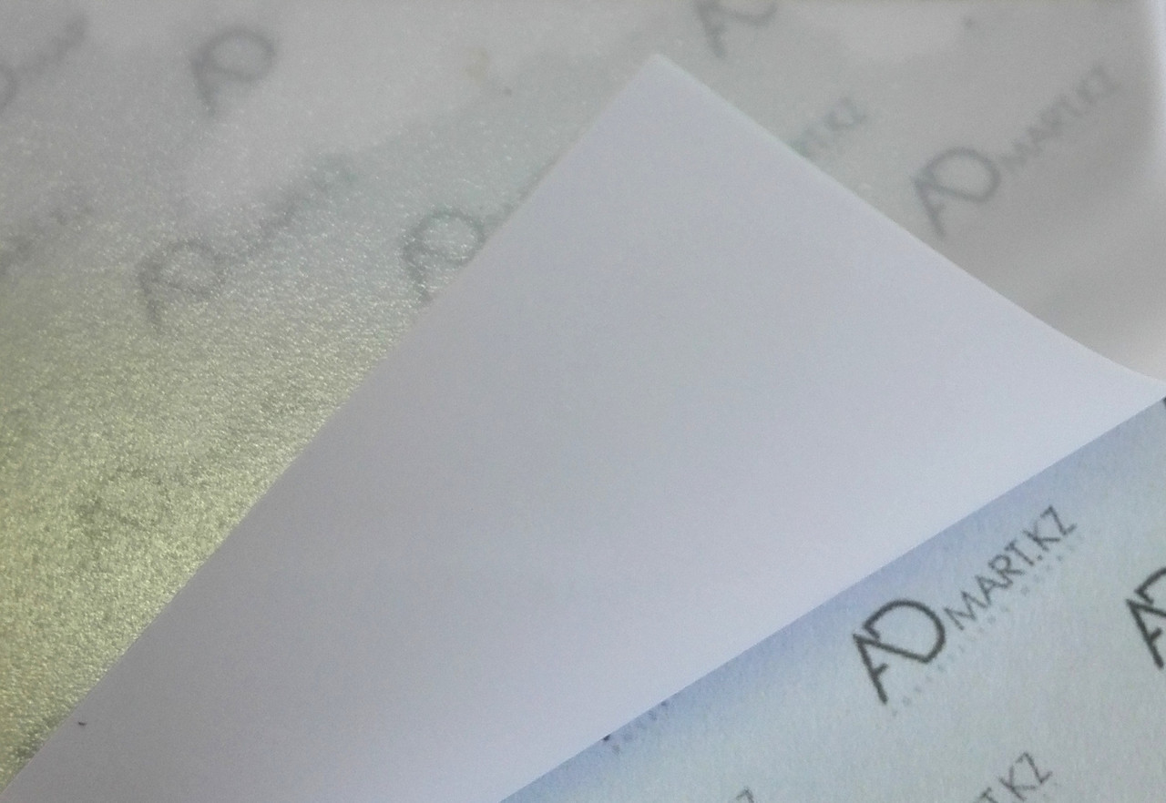 Бэклит пластик белый на просвет (170мкн) (1,52мХ50м)