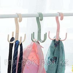 Вешалка - крючок  в шкаф ( 4 крючка )