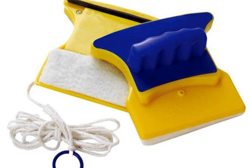 Магнитная щетка для мытья окон  Glass Wiper (Гласс Вайпер)