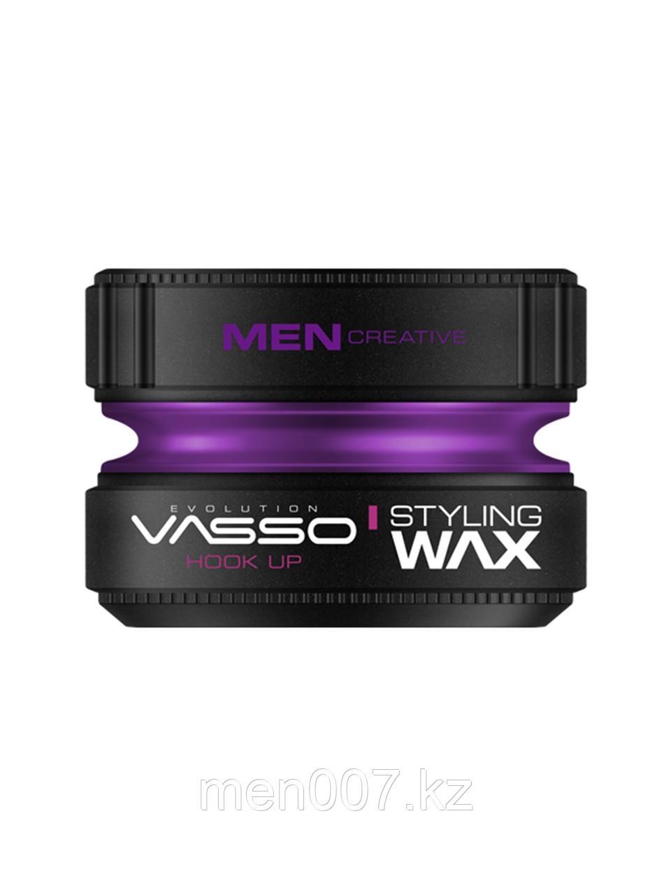 Vasso Воск для укладки волос Styling Wax Hook Up, 150мл.