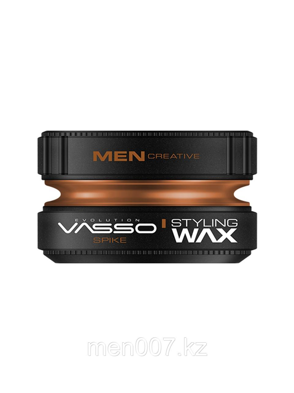 Vasso Воск-глина для укладки волос Styling Wax Pro-Clay Spike, 150мл.