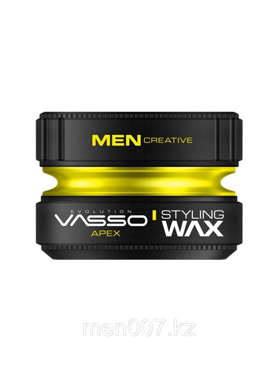 Vasso Воск-глина для укладки волос Styling Wax Pro-Matte Paste Apex, 150мл.