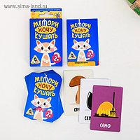 Развивающая игра «Мемори. Хочу кушать», 30 карточек…, фото 1