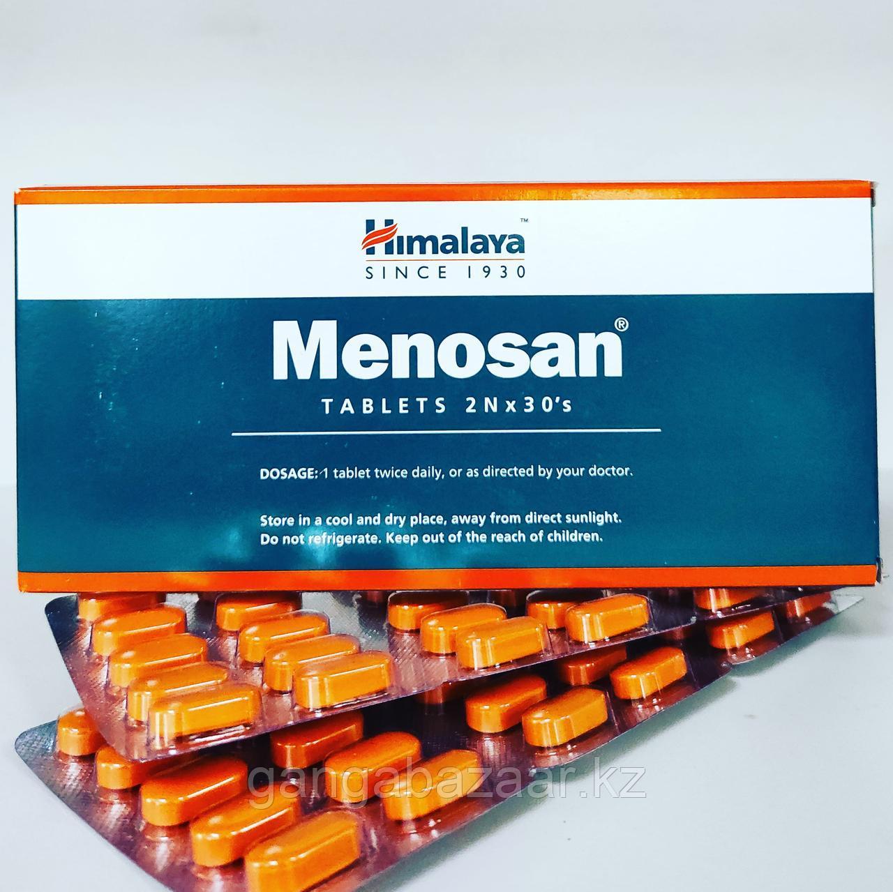 Меносан (Menosan Himalaya) - природный препарат в период менопаузы и после нее, 60 таб