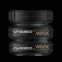 "Vasso Помада для укладки ""Динамика"" для кудрявых волос Styling Pomade Wax Black Edition Dynamic, 150мл."