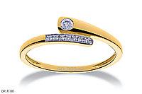Кольцо с бриллиантом, DR7108W