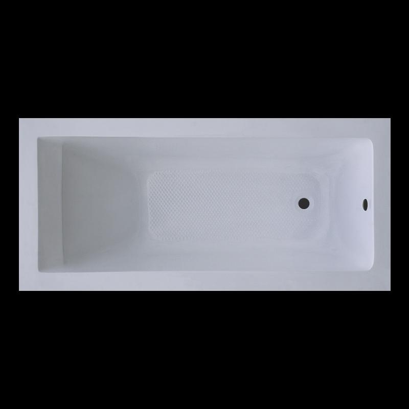 Ванна Акриловая 1700 XM-S201B прямая в комплекте с 2-я экранами и каркасом