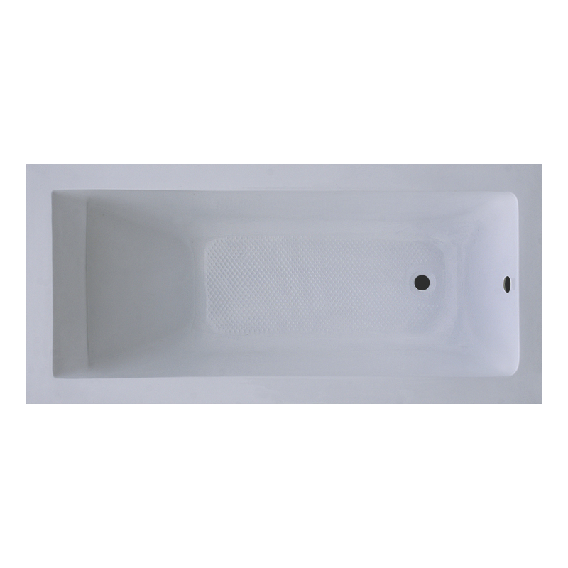 Ванна Акриловая XM-S201B прямая в комплекте с 2-я экранами и каркасом - фото 1