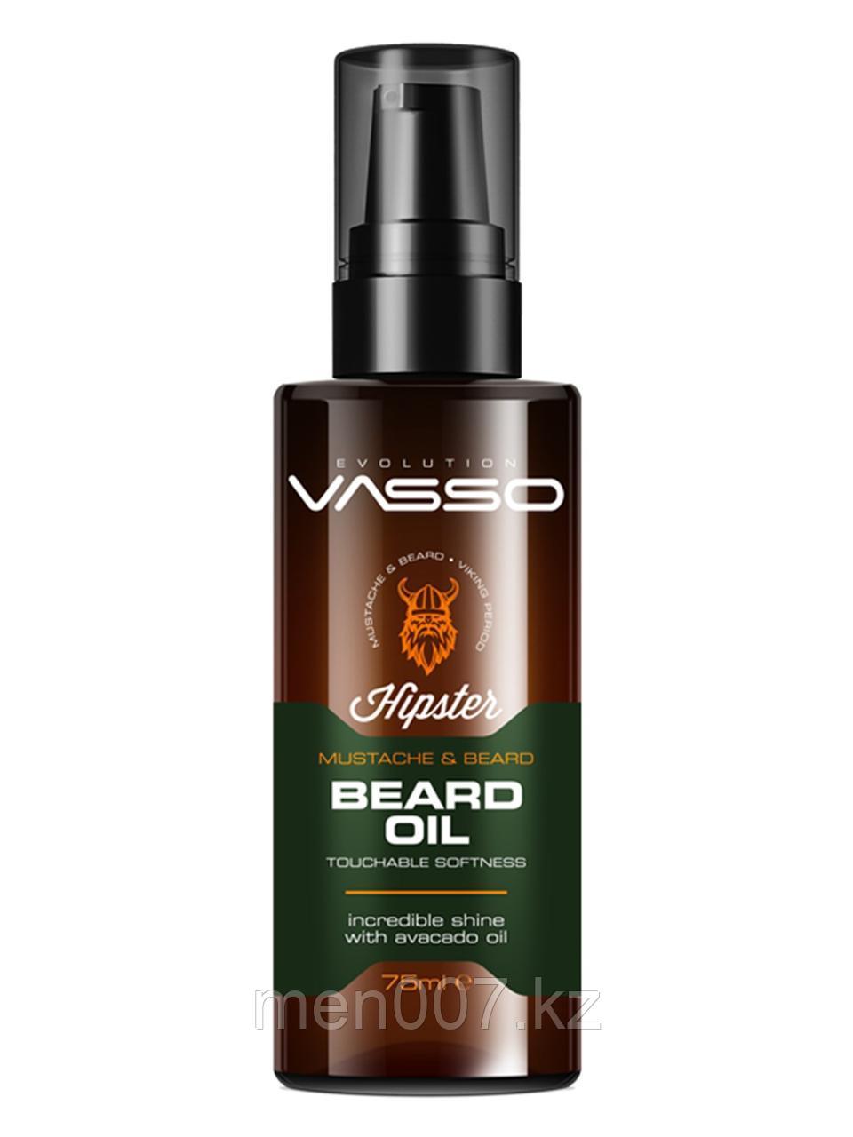 Vasso Масло для бороды и усов, 75 мл