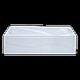 Ванна акриловая 140х70 прямая в комплекте 2-мя экранами и каркасом, фото 3