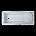 Ванна акриловая 140х70 прямая в комплекте 2-мя экранами и каркасом, фото 2