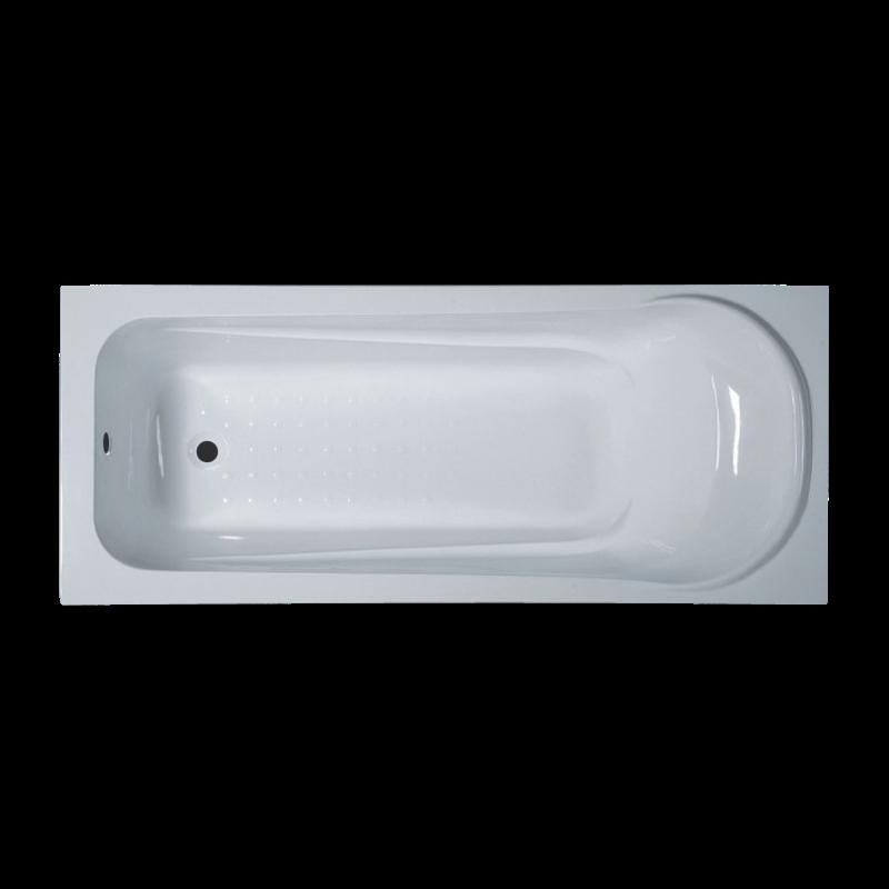 Ванна акриловая 140х70 прямая в комплекте 2-мя экранами и каркасом - фото 2