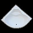 Ванна Акриловая угловая 1500*1500*400 в комплекте с экраном, фото 2