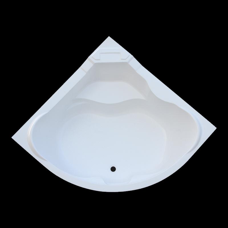 Ванна Акриловая угловая 1500*1500*400 в комплекте с экраном - фото 2