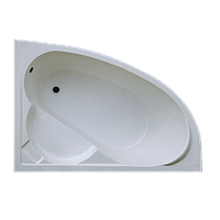 Ванна Акриловая левосторонняя 1700*1000*400 в комплекте с экраном