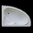 Ванна Акриловая угловая левосторонняя 1500*1000*400 в комплекте с экраном, фото 2
