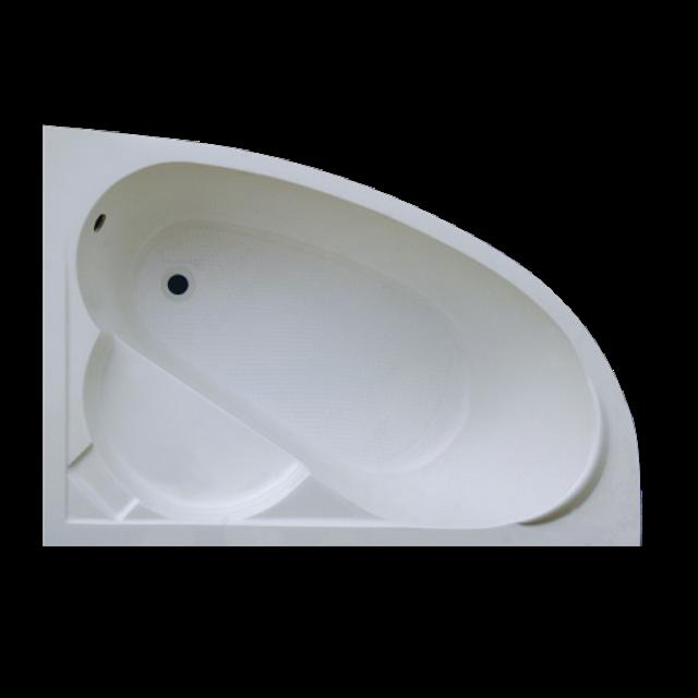Ванна Акриловая угловая левосторонняя 1500*1000*400 в комплекте с экраном - фото 2